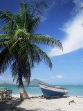 View Towards St. Kitts, Nevis, Leeward Islands, West Indies, Caribbean, Central America Photographie par G Richardson