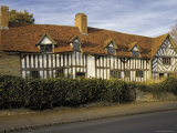 Mary Ardens House, Home of Shakespeare's Mother, Wilmcote, Warwickshire Photographic Print by David Hughes