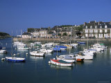 Le Val-Andre, Harbour, Emerald Coast, Cotes d'Amor, Brittany, France Photographic Print by David Hughes