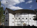 The Globe Theatre, Bankside, London, England, United Kingdom Photographic Print by David Hughes