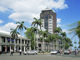 City Centre and State Bank, Port Louis, Mauritius, Indian Ocean, Africa Photographic Print by G Richardson