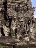 Temple Carvings, Ubud, Bali, Indonesia, Southeast Asia Photographic Print by James Green