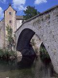 Le Pont-De-Montvert, River Tarn, Cevennes, Lozere, Languedoc-Roussillon, France Photographic Print by David Hughes