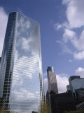 The Enron Building and Other Skyscrapers Beyond, Houston, Texas, USA Photographic Print by G Richardson