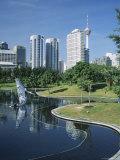 The City from Klcc Park, Kuala Lumpur, Malaysia, Southeast Asia Photographic Print by G Richardson