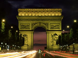 Arc De Triomphe, Paris, France Photographic Print by Lee Frost