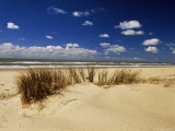 Beach, Cote d'Argent, Gironde, Aquitaine, France Photographic Print by David Hughes
