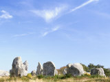 Standing Stones, Carnac, Morbihan, Brittany, France Photographic Print by David Hughes