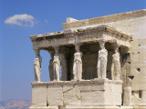 The Erechtheion, Acropolis, Unesco World Heritage Site, Athens, Greece Photographic Print by G Richardson