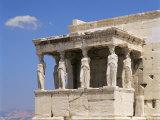 The Erechtheion, Acropolis, Unesco World Heritage Site, Athens, Greece Photographic Print by G Richardson