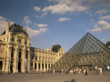 La Pyramide and the Musee Du Louvre, Paris, France Photographic Print by Lee Frost