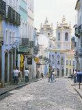 Pelhourinho, Salvador De Bahia, Unesco World Heritage Site, Bahia, Brazil, South America Photographic Print by G Richardson