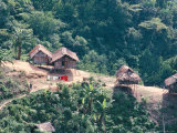 Orang Asli Village, Cameron Highlands, Perak State, Malaysia, Southeast Asia Photographic Print by James Green