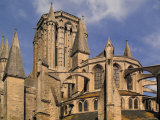 Notre Dame Cathedral, Coutances, Cotentin Peninsula, Manche, Normandy, France Photographic Print by David Hughes