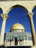 Dome of the Rock, Jerusalem, Israel, Middle East Photographic Print by G Richardson