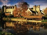 River Indrois, Montresor, Touraine, Indre-Et-Loire, Loire Valley, Centre, France Photographic Print by David Hughes