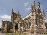 Hereford Cathedral, Hereford, Herefordshire, Midlands, England, United Kingdom Photographic Print by David Hughes