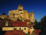 Chateau De Castelnaud, Dordogne, Aquitaine, France Photographic Print by David Hughes
