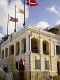 Government House, Christiansted, St.Croix, U.S. Virgin Islands Photographic Print by G Richardson
