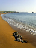 Beach, South Milton Sands, South Hams, Devon, England, United Kingdom Photographic Print by David Hughes