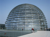 The Reichstag Dome, Berlin, Germany Photographic Print by G Richardson