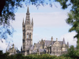 Glasgow University, Glasgow, Strathclyde, Scotland, United Kingdom Photographic Print by G Richardson