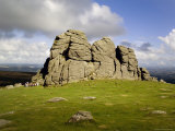 Hay Tor Rocks, Dartmoor, Devon, England, United Kingdom Photographic Print by David Hughes
