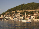 Vis Old Town, Vis Island, Dalmatia, Croatia, Adriatic Photographic Print by G Richardson