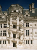 Staircase, Chateau of Blois, Loir-Et-Cher, Centre, France Photographic Print by G Richardson