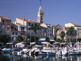Harbour, Sanary-Sur-Mer, Var, Cote d'Azur, Provence, France, Mediterranean Photographic Print by David Hughes