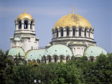 Alexander Nevski Cathedral, Sofia, Bulgaria Photographic Print by G Richardson