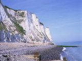 St. Margaret's at Cliffe, White Cliffs of Dover, Kent, England, United Kingdom Photographic Print by David Hughes