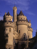 Chateau De Pierrefonds, Forest of Compiegne, Oise, Nord-Picardie (Picardy), France Photographic Print by David Hughes