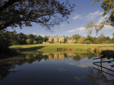 The Lake, Batsford Hall, Batsford Arboretum, the Cotswolds Photographic Print by David Hughes