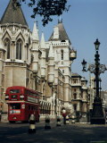 Royal Courts of Justice, the Strand, London, England, United Kingdom Photographic Print by G Richardson