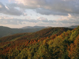 Earling Morning Landscape, Little Switzerland, Blue Ridge Parkway, USA Photographic Print by James Green