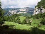 Combe Laval, Parc Naturel Regional Du Vercors, Drome, Rhone Alpes, French Alps, France Photographic Print by David Hughes