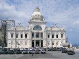 Rio Branco Palace, Salvador, Bahia, Brazil, South America Photographic Print by G Richardson