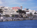 Waterfront, Hamilton, Bermuda, Atlantic, Central America Photographic Print by G Richardson