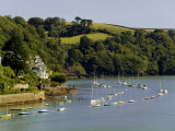 River Dart Estuary, Dartmouth, South Hams, Devon, England, United Kingdom Photographic Print by David Hughes