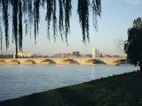 Potomac River and the Arlington Memorial Bridge, Washington D.C., USA Photographic Print by James Green