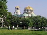 Alexander Nevski Cathedral, Sofia, Bulgaria Photographic Print by G Richardson