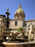 Piazza Pretoria, Palermo, Sicily, Italy Photographic Print by G Richardson