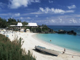 Southampton Beach, Bermuda, Atlantic, Central America Photographic Print by G Richardson