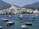 Cadaques, Costa Brava, Catalonia, Spain, Mediterranean Photographic Print by G Richardson