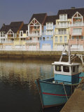 Holiday Flats Overlooking the Port, Deauville, Calvados, Normandy, France Photographic Print by David Hughes