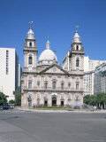 Candelaria Church, Rio De Janeiro, Brazil, South America Photographic Print by G Richardson