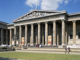 The British Museum, Bloomsbury, London, England, United Kingdom Photographic Print by G Richardson