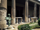 House of the Vettii, Pompeii, Unesco World Heritage Site, Campania, Italy Photographic Print by G Richardson