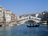 Rialto Bridge, Venice, Unesco World Heritage Site, Veneto, Italy Photographie par Lee Frost